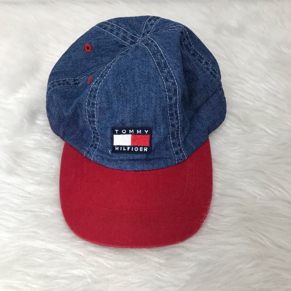 69daf253 Tommy Hilfiger Accessories | Logo Baseball Toddler Hat | Poshmark